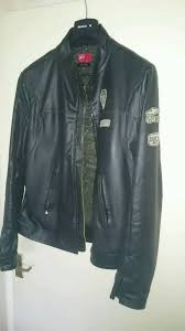 ducati vintage motorcycle casual leisure leather jacket