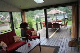 Outdoor Living Room Creating An Outdoor Living Room From A Screened In Porch And Deck