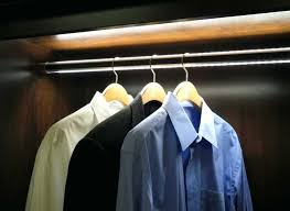 lighted closet rod luxury rods efficient international of inspirational led wessel lighting in