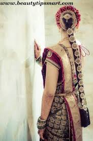south indian bridal hairstyles wedding reception with pictures