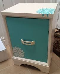 girls desk furniture. painted furniture nightstand desk girls bedroom custom ideas t