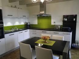 Cuisine Verte Et Blanche Jason Putorti Cuisine Moderne Verte Et