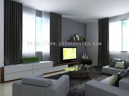 Living Room Decorating Feature Wall Taman Mount Austin Tv Feature Wall Design Living Room Design