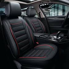 weather proof seat covers leather car waterproof mat auto cushion accessories for corolla toyota tacoma