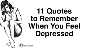 Inspirational Quotes For Depression