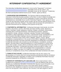 Nda Non Compete Template Free Intern Non Disclosure Agreement Nda Pdf Word