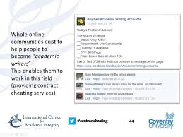contract cheating and the essay writing industry where does the mon writing accounts 44