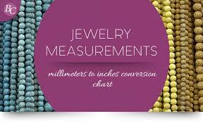 Millimeters To Inches Chart Jewelry Measurements Millimeters To Inches Conversion Chart