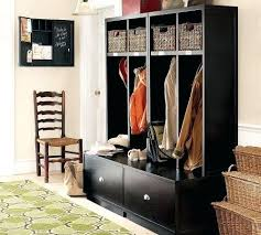 pottery barn locker furniture. Entryway Bench With Drawers Locker Unit And Drawer Open Suite Pottery Barn Furniture