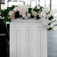 Wedding Seating Chart Modern Lauren Skorsis Design Studio