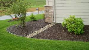 garden drainage. How To Handle The Flooded Garden- Drainage Flood Water - Pipes Stones Cleaning Garden P