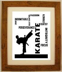 personalised martial arts kick boxing karate tai kwon do word art gift karate martial arts kempo karate karate