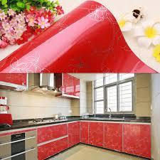 Red Kitchen Cupboard Doors Aliexpresscom Buy Yazi Gloss Red Peony Kitchen Cupboard Door