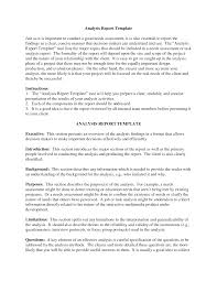 Sample Project Analysis Downloadable Analysis Report Template Sample Vmd 6