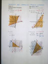 collection of graphing linear inequalities worksheet kuta them and try to solve