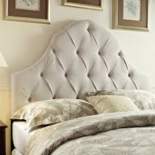 king size padded headboard.  Padded Tufted Taupe KingCalifornia King Size Upholstered Headboard With Padded Overstockcom