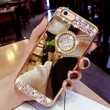 mirror iphone 7 plus case. image is loading hot-luxury-glitter-mirror-case-with-ring-for- mirror iphone 7 plus case