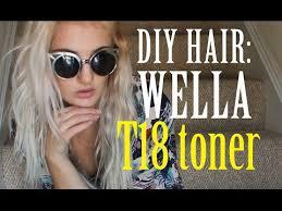 Wella Toner For Orange Hair Chart Diy Hair How To Use Wella Color Charm Toner Bellatory