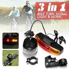 New XC-408 <b>Bike Bicycle</b> 7-LED <b>Safety Warning Turn</b> Signal Light ...