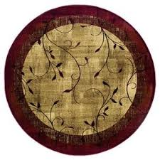 cheap round rugs. Allen + Roth Tinsley Red Indoor Nature Area Rug Cheap Round Rugs D