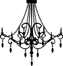 crystal chandelier clip art