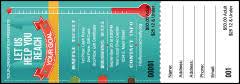 Cancer Health Fundraiser Raffle Tickets Raffle Ticket Printing
