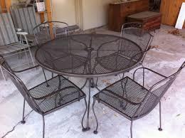 painting patio furniturePainted Iron Patio Furniture
