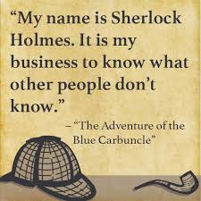 Insightful Quotes New 48 Insightful Quotes From The Great Sherlock Holmes Books