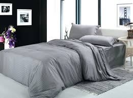 duvet covers free 100cotton fabric silver gray white 4pcs bedding sets twin full queen king size bed linen