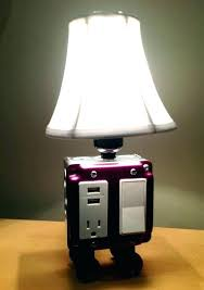 usb port lamp bedside lamp with port bedside lamp with charging port table or desk lamp