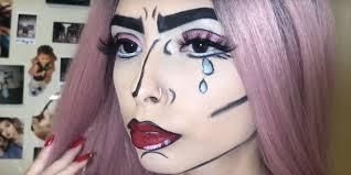 16 last minute halloween makeup ideas