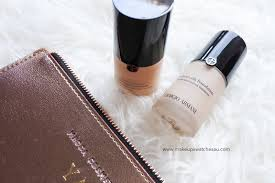 Armani Designer Foundation Review Giorgio Armani Luminous Silk Foundation Vs Power Fabric