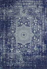 bashian dark blue area rug contemporary hall and stair runners by bashian