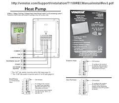 2 stage thermostat wiring diagram facbooik com 2 Stage Heat Pump Thermostat Wiring review honeywells model rth8580wf programmable thermostat hvac is 2 stage heat pump thermostat wiring nest