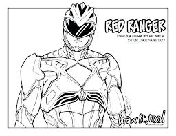 Power Rangers Coloring Book Coloring Power Rangers Ranger Colouring