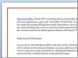 Microsoft Word Border How To Insert Page Borders In Word 2010