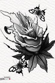 Tattoo Uploaded By Pavlik Gusarov цветок для татуировки At