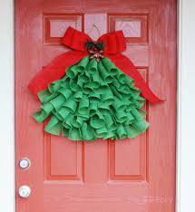 Wall Xmas Decorations Diy Christmas Wall Decorations Happy Holidays