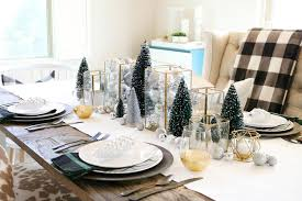 dining room ideas for christmas. simple and modern christmas dining table ideas room for