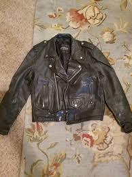 wilson vintage leather riding jacket