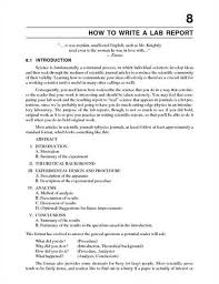 lab report sample sample physics lab report outline template for example essay report sample essay reportreport discussion example