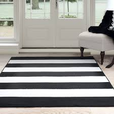 amazoncom lavish home breton stripe area rug ' by ' black