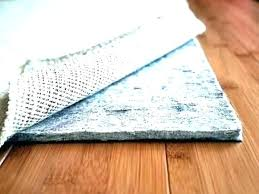 waterproof carpet pad upon s padding types medium size of rug pads for hardwood floors anchor