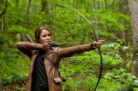 katniss everdeen the hungar games  archery