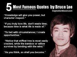 Most Popular Quotes Beauteous Most Famous Quotes From Bruce Lee Inspiration Boost