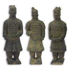 terracotta warrior sculpture