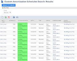 Netsuite Multi Book Searching On Amortization And Rev Rec