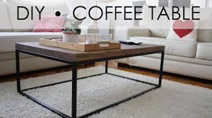 simple coffee table designs. DIY - Coffee Table EASY \u0026 SIMPLE Simple Designs