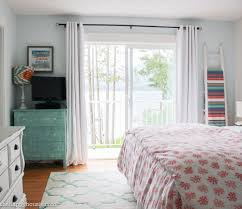 Master Bedroom And Our Coral Navy Teal Master Bedroom Ensuite The Happy Housie