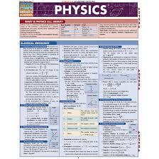 Quickstudy Bar Chart Physics